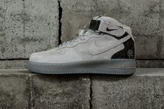 0a9e8901399 Genuine Nike Air Forcel Mid X Reigning Champ Grey Black 2018 Nike Air Force  1 For
