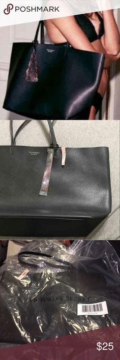 Brand New with Tags Victoria Secret Tote Victoria's Secret 2016 Black Friday tote Brand new, never used. Victoria's Secret Bags Totes