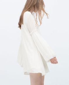 Image 2 of PUFF SLEEVE DRESS from Zara REF. 3658/007  2,590 RSD - 3,990 RSD