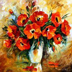 Leonid Afremov: Bouquet