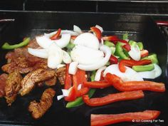 101 Cooking For Two - Everyday Recipes for Two: Grilled Pork Tenderloin Fajitas