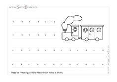 6. Trazos horizontales sin guía