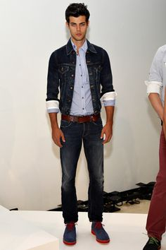 Gilded Age Spring 2013 from GQ, can't beat the denim combination.