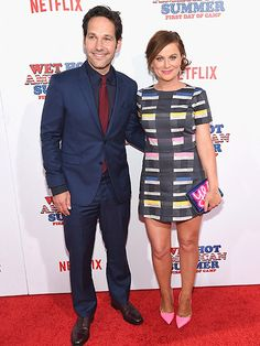 Star Tracks: Thursday, July 23, 2015 | FRIENDSHIP GOALS | Paul Rudd and Amy Poehler reunite at Wednesday's premiere for their Netflix series, Wet Hot American Summer: First Day of Camp, in New York City.