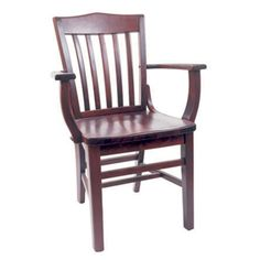 school house arm chair - Vintage Wooden Dining Chairs