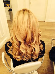 Curls, drybar