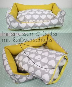Sewing instructions dog bed in 3 sizes with zipper – sewing instructions at Makerist Informations About Nähanleitung Hundebett in 3 … Stuffed Animal Patterns, Diy Stuffed Animals, Pet Beds, Dog Bed, Dog Toilet, West Highland Terrier, Sewing Toys, Dog Coats, Guinea Pigs