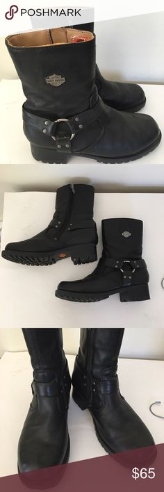 HARLEY DAVIDSON BOOTS This awesome boot are pre❤️ in excellent condition . Harley-Davidson Shoes Boots
