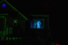 Projection Ghost new for 2014 Something wicKED this way comes....: New tenants in The Wicked Woods Cemetery