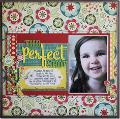 The Perfect Shot...single photo layout