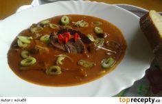 Pikantní vepřové srdce na česneku Thai Red Curry, Ethnic Recipes, Food, Essen, Meals, Yemek, Eten