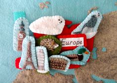 Animals of Europe for the Montessori Wall Map & Quietbook with Printables | Imagine Our Life
