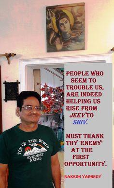 """Love thy enemy"" - why?"