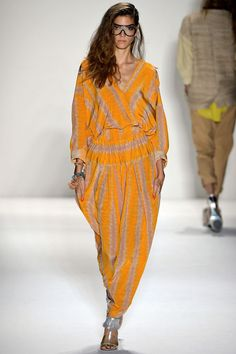 Tracy Reese #Spring2013 #NYFW Graphic Print Jumpsuit! Easy and Beautiful