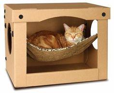 SnoozePal™ Cat Hammock