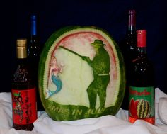 Click to VOTE for this #watermeloncarving! By Areerat Wancowicz