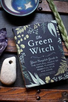 Another sweet book on witchcraft—The Green Witch by Arin Murphy-Hiscock. Check out this list of more favorite witchcraft books, spell books, and other witchy things to read.