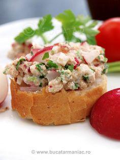 Salata de ridichi cu patrunjel si iaurt | Bucatar Maniac