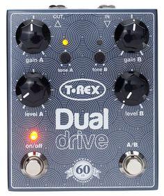 🎶🎶 T-Rex Dual Drive 60th Anniversary available: Thomann 🎶🎶