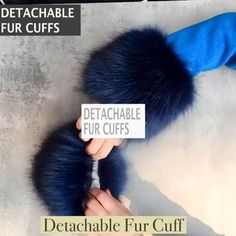 Warm up in style using the Detachable Fur Cuff! These dramatic cuffs feature dense faux fur, giving it a luxuriously fashionable look with a comfortable, warm feeling. Currently 50%OFF with Free Shipping!! Only on Neulons.com Diy Fashion Projects, Diy Fashion Hacks, Chic Winter Outfits, Fur Accessories, Gingham Fabric, Cute Jackets, Clothes Crafts, Clothing Hacks, Ice Queen