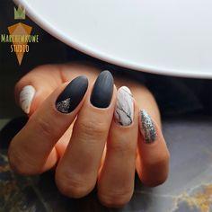 Marmurkowe paznokcie + Szkolenie w Marchewkowym Studiu | Polish & Cookies | Wzorki na paznokcie i kruche ciasteczka