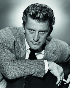 Kirk Douglas, born Issur Danielovitch (1916) - American film an stage actor, film producer and author. Photo by AL Whitey Schafer, 1946