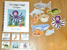 Preposition Adapted Books focus on positional words or ...