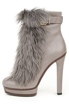 Head over Heels - Gucci fur boots Stilettos, Pumps, High Heels, Fur Heels, Shoes Heels, Ankle Boots, Bootie Boots, Over Boots, Botas Sexy