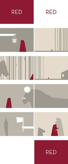 R E D by Max Saladrigas
