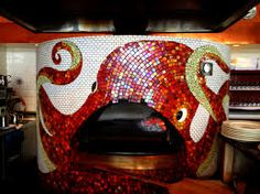 Image result for can you mosaic a pizza oven?