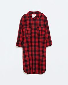 Image 7 of CHECK DRESS from Zara