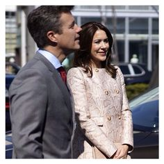 The Crown Prince & Crown Princess of Denmark in their tour in Japan.