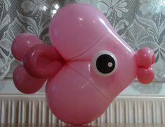 Halacska   Fish balloon art