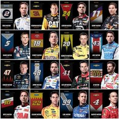 the 2014 Chase Drivers