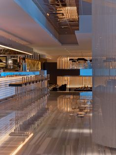 Current Restaurant at the W Chicago Lakeshore, Chicago by Meyer Davis Studio