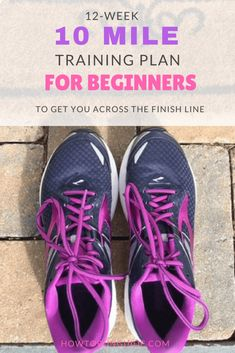 Need a 10 Mile training plan for beginners that will get you across the finish line? This training plan is perfect for beginners and includes everything you need to run your first 10 Miler. 10 Miler Training Plan, Running Training Plan, Training For A 10k, Training Schedule, Half Marathon Training Plan, Running Tips, Trail Running, Strength Training For Beginners, Running For Beginners
