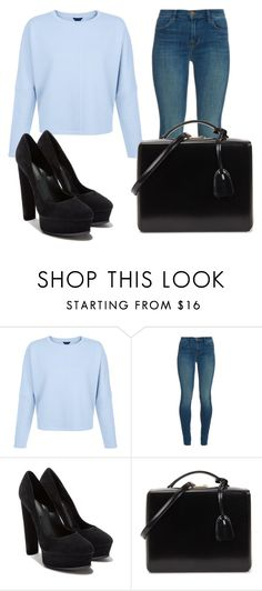 """""""Sem título #7852"""" by ana-sheeran-styles ❤ liked on Polyvore featuring J Brand, Casadei and Mark Cross"""