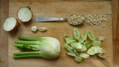 Fenyklová polévka Celery, Vegetables, Food, Essen, Vegetable Recipes, Meals, Yemek, Veggies, Eten
