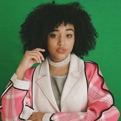 My queen Amandla Stenberg for All In Magazine