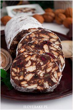 Tarta z mascarpone i jagodami - I Love Bake Food Cakes, Cake Recipes, Pork, Food And Drink, Nutella, Cooking Recipes, Sweets, Bread, Candy