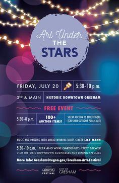 July Art Under the Stars!