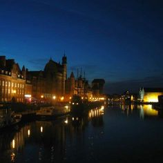 Gdansk, Poland @ Night