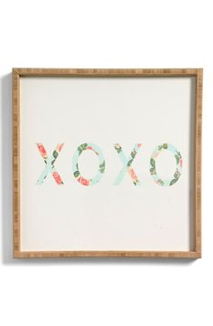 DENY Designs 'Allyson Johnson - XOXO' Memo Board available at #Nordstrom