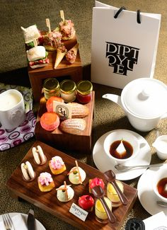 Tea time: 5 Hong Kong afternoon tea sets to try now - Cafe Gray - Diptyque afternoon tea