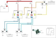 5 Pin Headlight Wiring Diagram for cars and trucks Relay