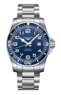 Longines - HydroConquest | New watches | WorldTempus
