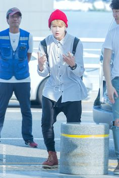 [Picture/Fansitesnap] BTS at Incheon Airport Depart to Thailand [150806] | btsdiary
