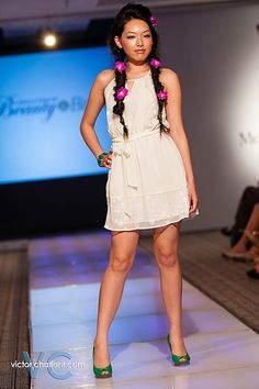 Emily at NWA Fashion Week 2013! This dress is available in S, M, L $29.99