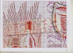 Precioso gráfico de un triptico de vino...