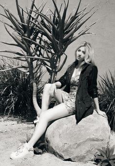 Mad Decent's pop princess LIZ in Aritzia Magazine
